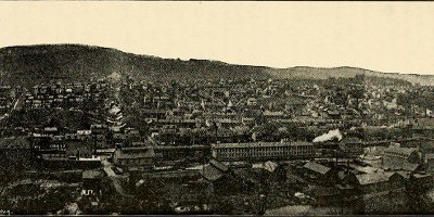 View of West Easton circa 1900